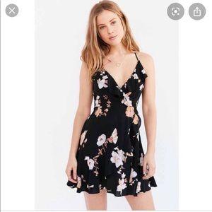 Urban outfitters Sabrina ruffle dress